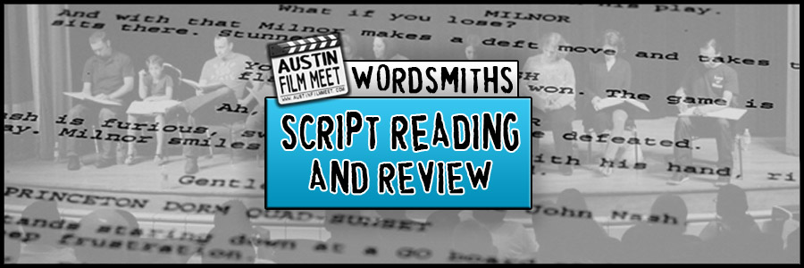 Wednesday, November 15, 2017 –  Wordsmiths Screenplay Table Read