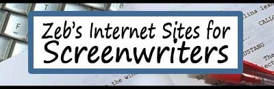 Zeb's Internet Resources for Screenwriters