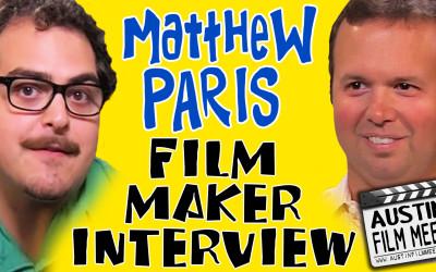 Matthew Paris Indie Filmmaker Interview with Jeremy Moran – Moranic Moments, Episode 2