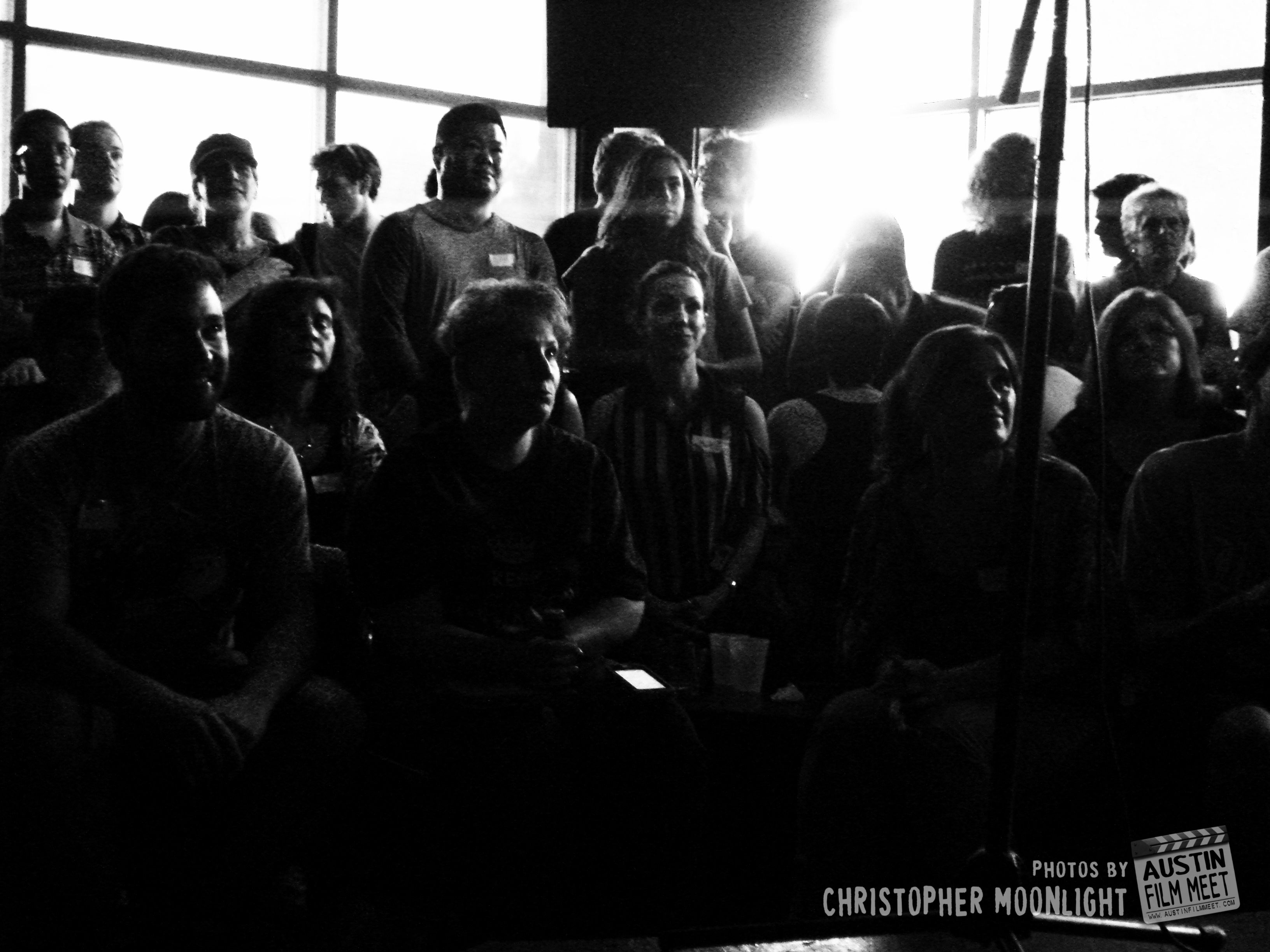 Photos from Austin Film Meet Mixer July 2014 by Christopher Moonlight