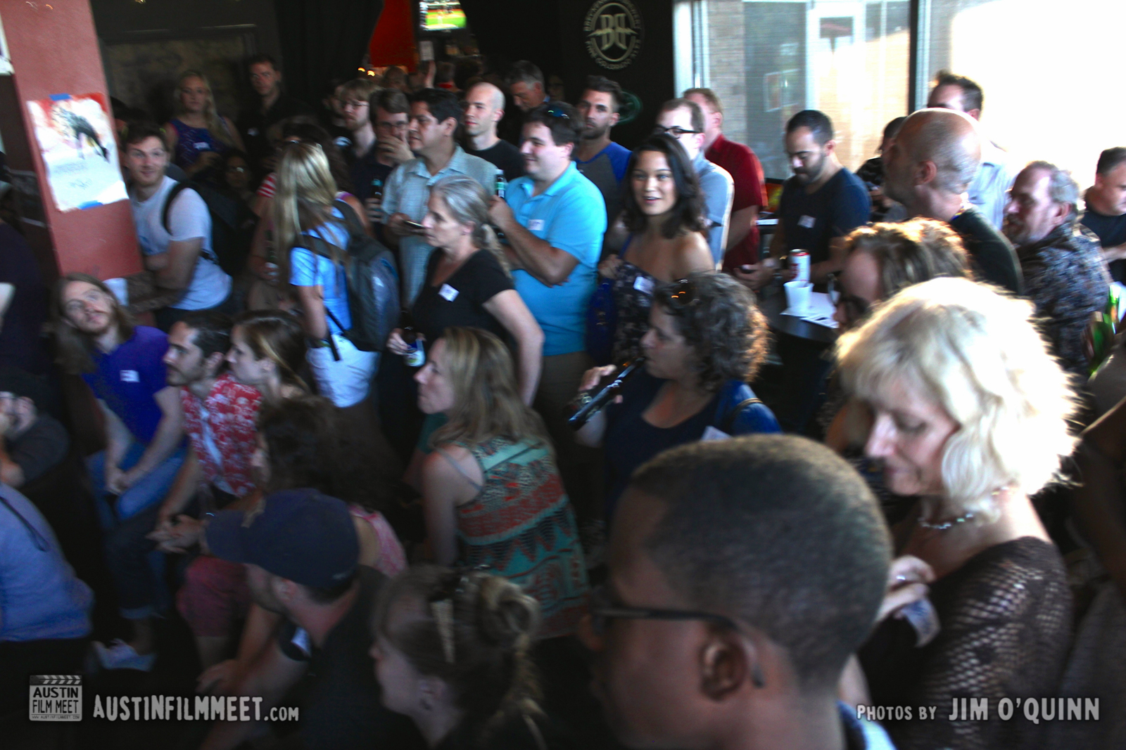 Photos from Austin Film Meet Mixer & Open-Mic August 2014 by Jim O'Quinn
