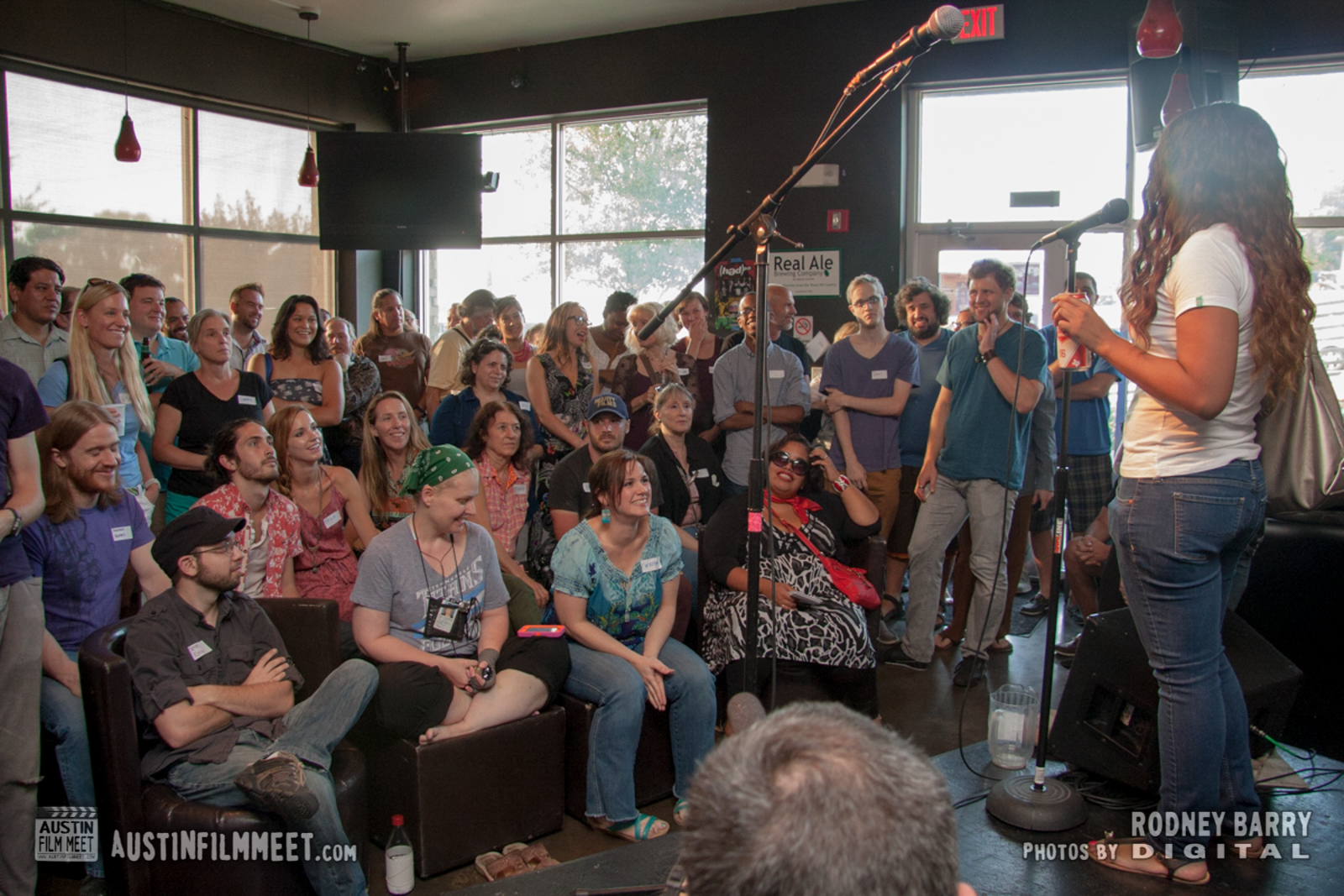 Photos from Austin Film Meet Mixer & Open-Mic August 2014 by Rodney Barry Digital
