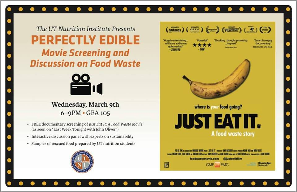 """Just Eat It"" Film Screening & Discussion on Food Waste - Austin, TX"