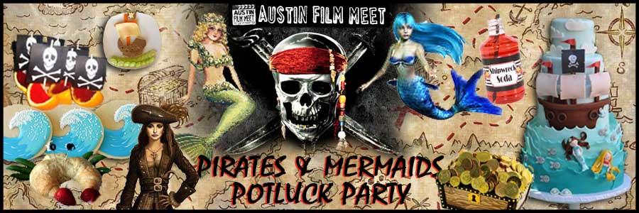 Saturday, September 20, 2014 - Pirates & Mermaids Pool Potluck Party