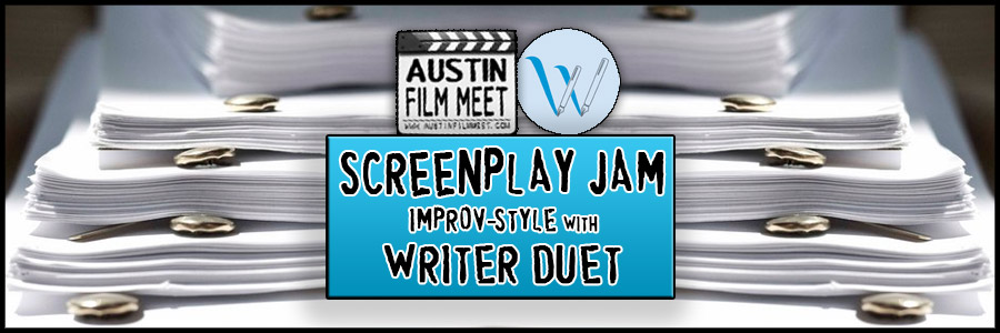 Sunday, August 2, 2015 - Screenplay Jam Improv-style with WriterDuet Creator