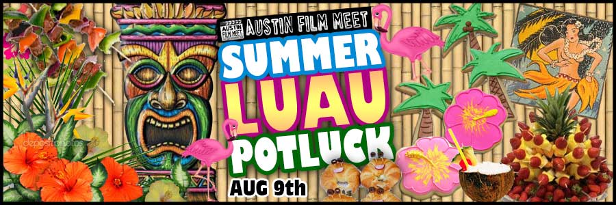 Saturday, August 9, 2014 - Summer Luau Pool Potluck Party