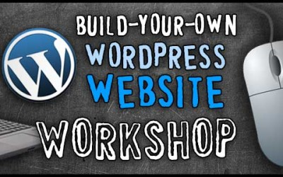 Tuesday, August 18 & 25, 2015 – Basics of WordPress Website Management Workshop